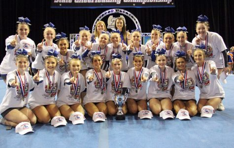Cheer Brings Home the Bling