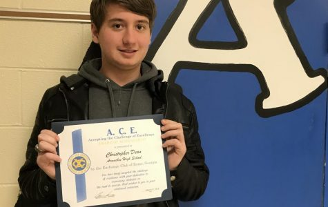 Exchange Club ACE Award Winner-Christopher Dean