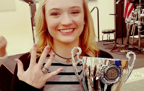 Competition Cheer Receives Championship Rings