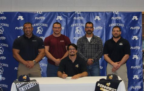 Jacob Henderson Signing with Reinhardt College