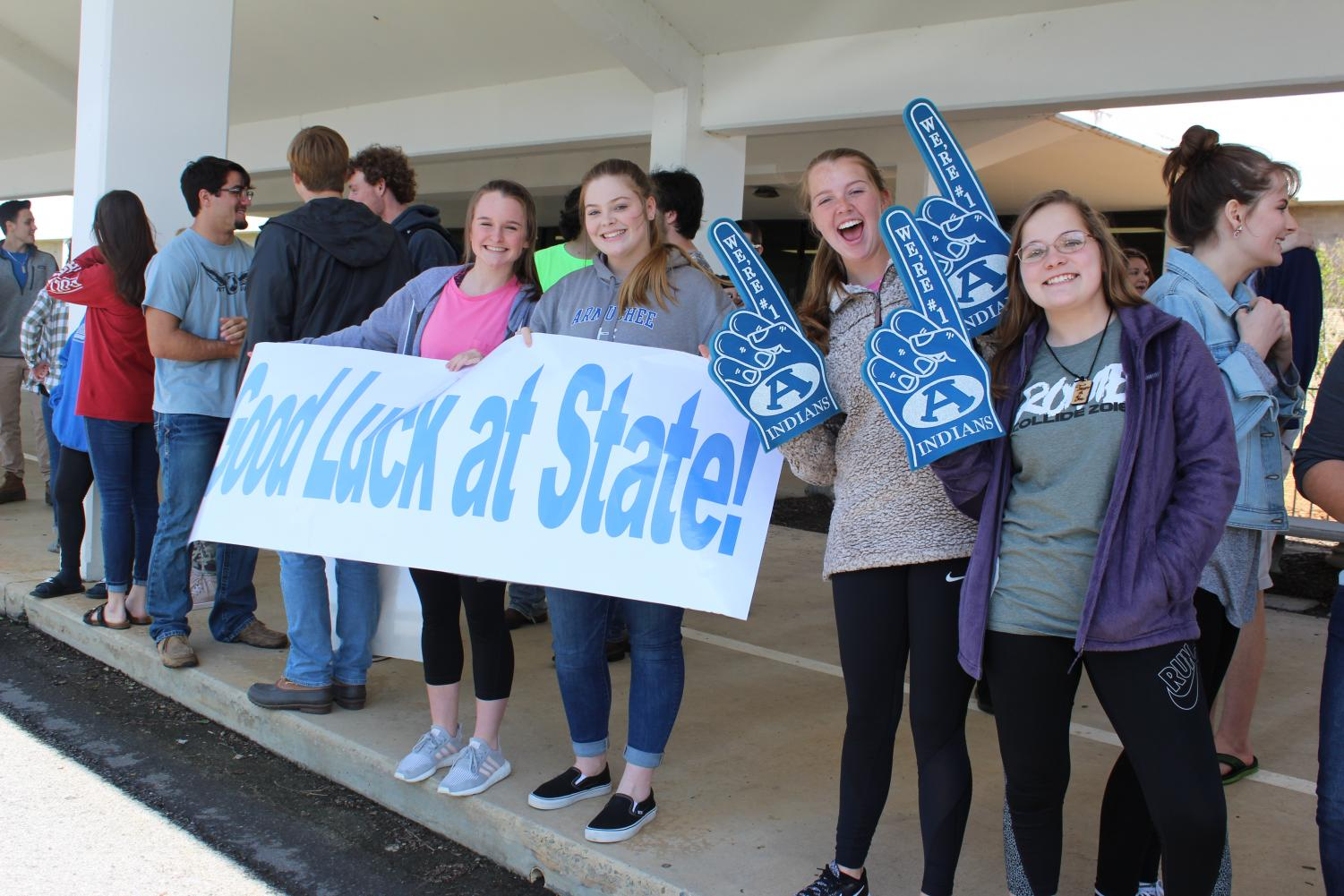 Boys Soccer-AHS Sendoff to State