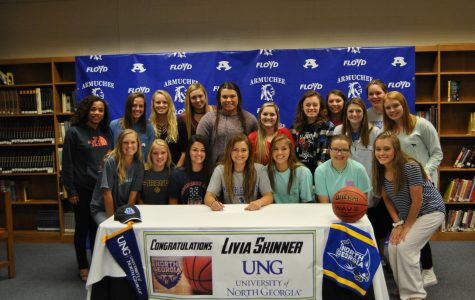 Livia Skinner Signs with University of North Georgia