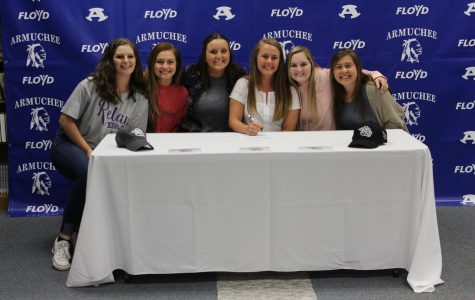 Savannah Poole signs with Young Harris College for softball