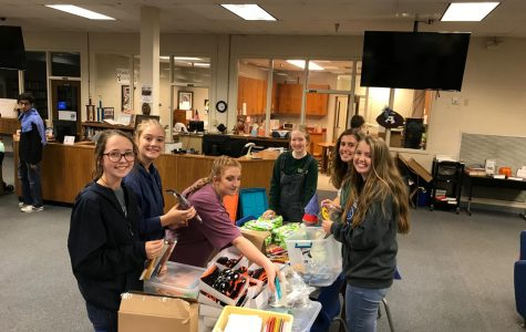 Key Club Helps to Bring Brighter Birthdays