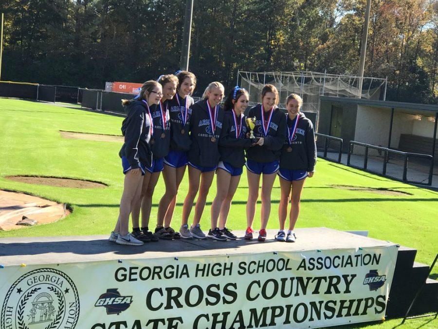 Girls+at+state+Cross+Country