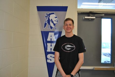 "Zac Goodwin is going to Jacksonville State University. Zac chose JSU because it reminds him of Armuchee and it is also one of the best business schools. Goodwin said, ""I'm ready to go to college to have fun and be independent."""