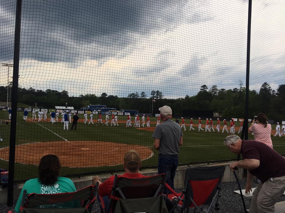 The+team+shakes+hands+with+Pepperell+as+the+last+time+the+seniors+will+play+on+Armuchee+High+School++baseball+field.+