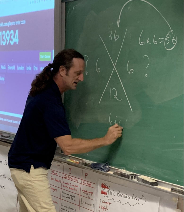 2019 Teacher of the Year: Mr. Bourg