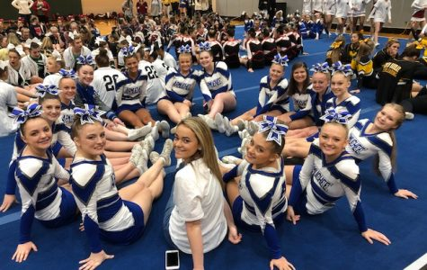 Competition Cheer 2019 Region Champs Earn 2nd at State
