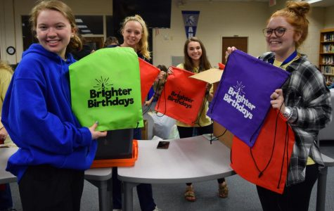 Brighter Birthdays and Key Club are  Making a Difference
