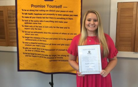 Kaylin Coffman is Praised by Noon Optimist