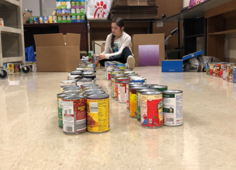 AHS Students Donate 3,838 Cans to Charity
