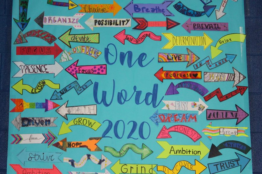 One Word Challenge Helps Students Set Goals for 2020