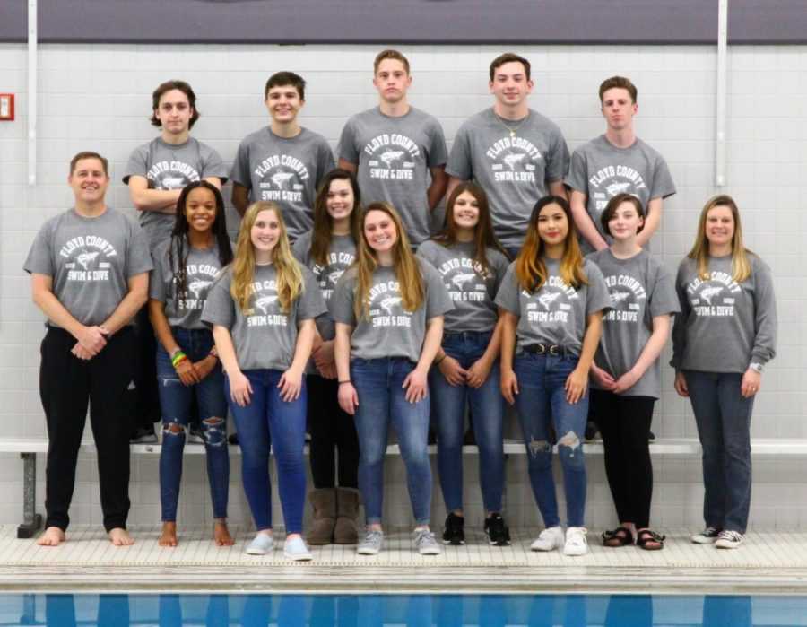 New Team On the Block - Floyd County Swim Team