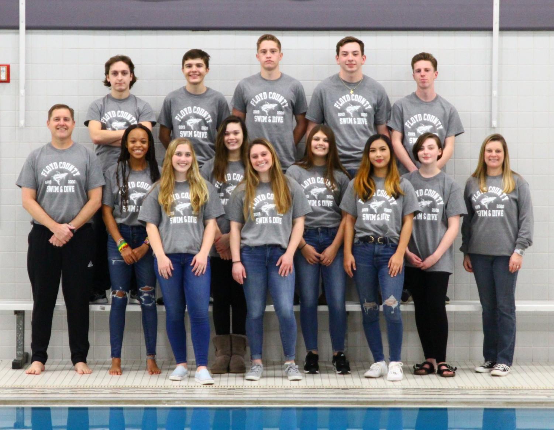 New Team On the Block - Floyd County Swim Team