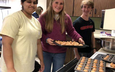 A Sweet Thank You: Key Club's November Baking Event