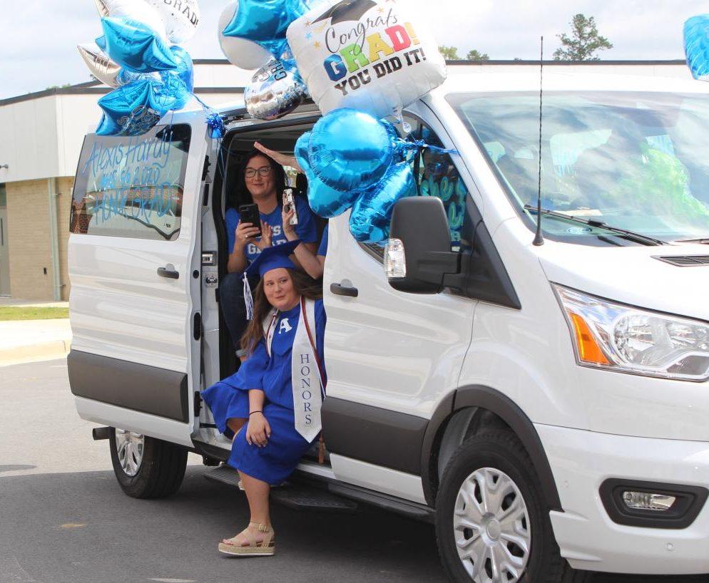 2020 Drive Through Graduation is a Success