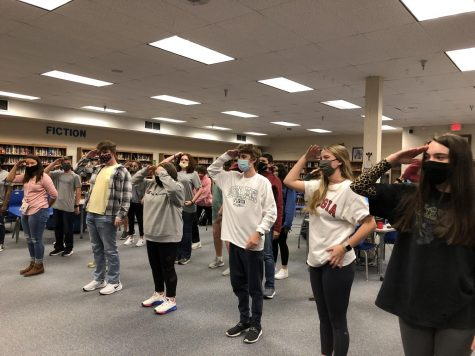 "Key Club Members playing ""Ships and Sailors"" at the 2020 ""Key Club Kick Off"" meeting"