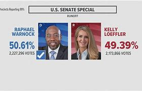 The polls for the Special Senate after the votes were counted.